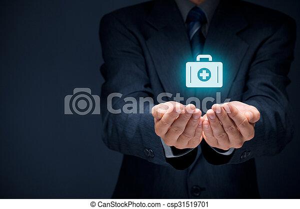保険, 医学 - csp31519701