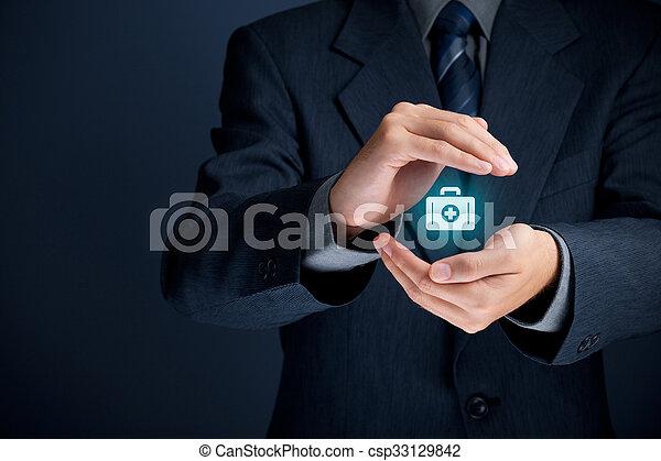 保険, 医学 - csp33129842