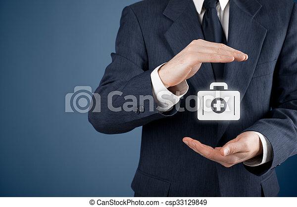 保険, 医学 - csp33129849