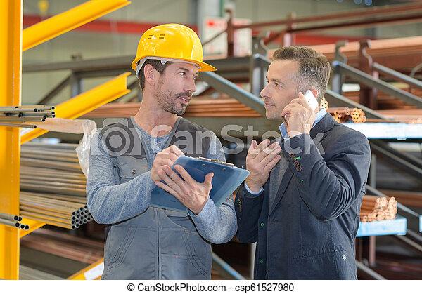 倉庫労働者, マレ, 分配 - csp61527980