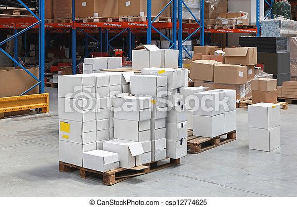 倉庫, 分配 - csp12774625