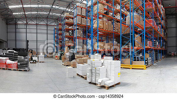 倉庫, 分配 - csp14358924