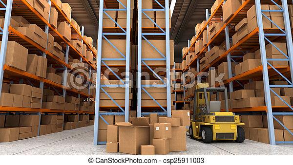 倉庫, 分配 - csp25911003