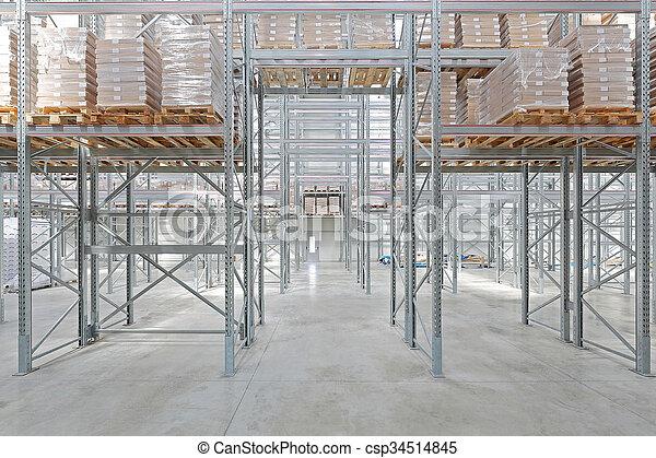 倉庫, 分配 - csp34514845