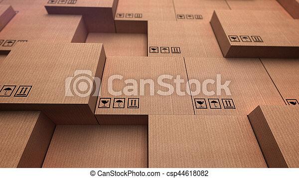 倉庫, 分配 - csp44618082