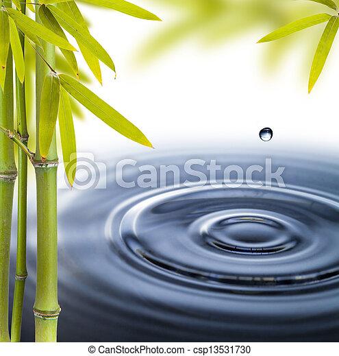 円, 水の生命, まだ, エステ - csp13531730