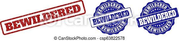 切手, 当惑させている, グランジ, シール - csp63822578