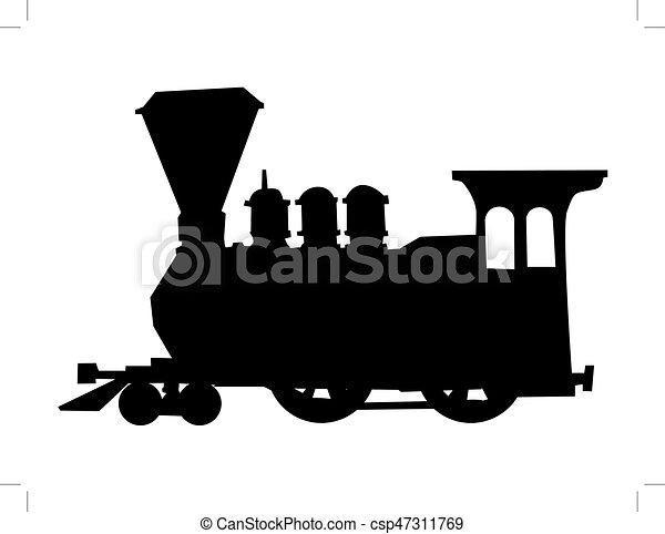 列車, 蒸気 - csp47311769
