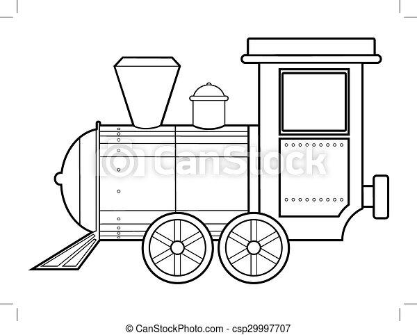 列車, 蒸気 - csp29997707