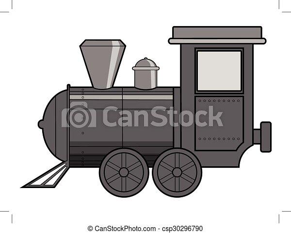 列車, 蒸気 - csp30296790