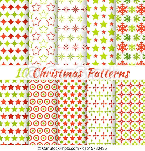 別, seamless, パターン, ベクトル, (tiling)., クリスマス - csp15730435