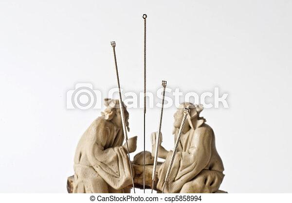 刺鍼術の 針 - csp5858994