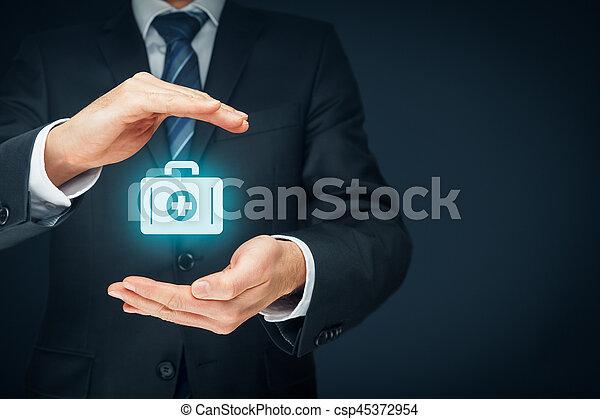医療保険 - csp45372954