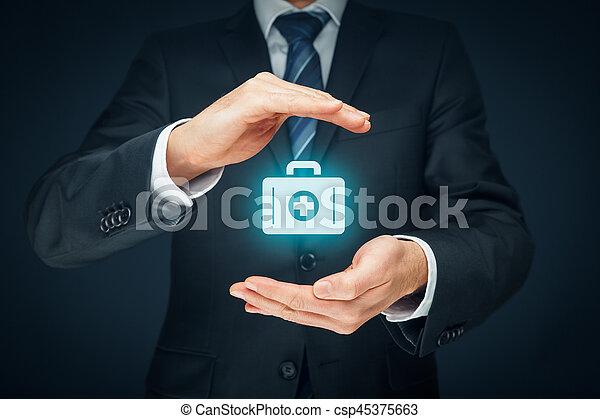 医療保険 - csp45375663