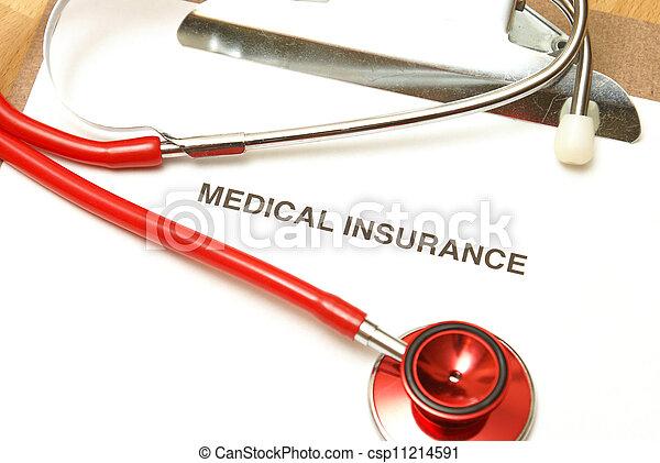 医療保険 - csp11214591