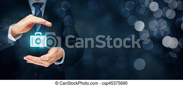 医療保険 - csp45375690