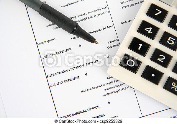 医療保険 - csp9253329