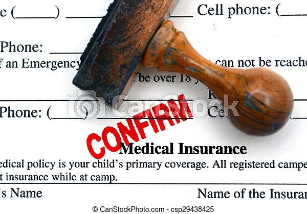 医療保険 - csp29438425