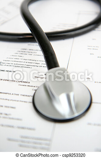 医療保険 - csp9253320