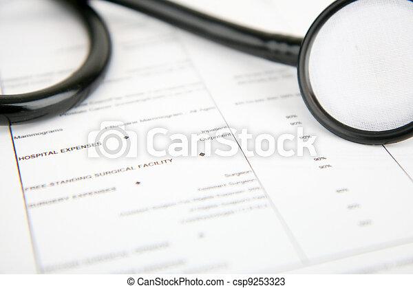 医療保険 - csp9253323