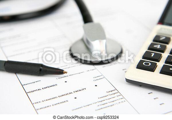 医療保険 - csp9253324