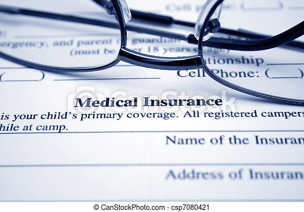 医療保険 - csp7080421