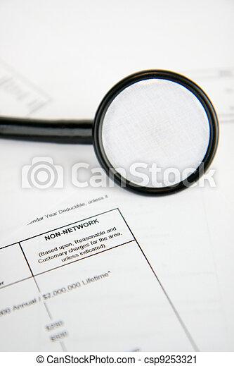医療保険 - csp9253321