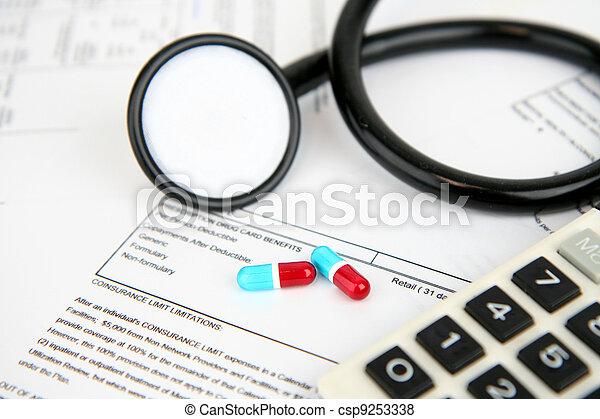 医療保険 - csp9253338