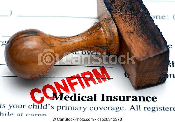 医療保険, 確証しなさい - csp28342370