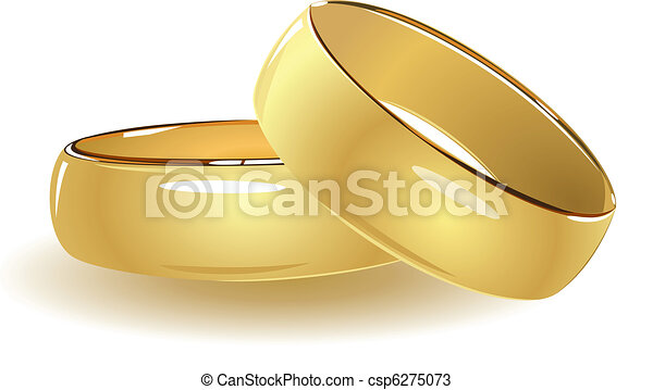 単純である, リング, 結婚式 - csp6275073
