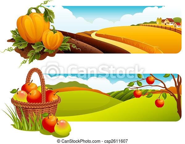 収穫 - csp2611607