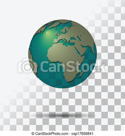 地球, 透明 - csp17656841