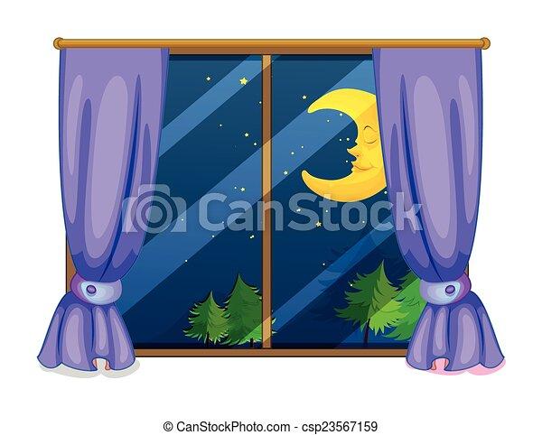 夜, 光景 - csp23567159