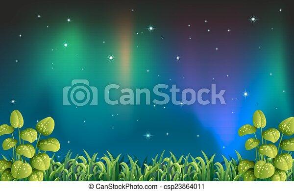 夜, 光景 - csp23864011