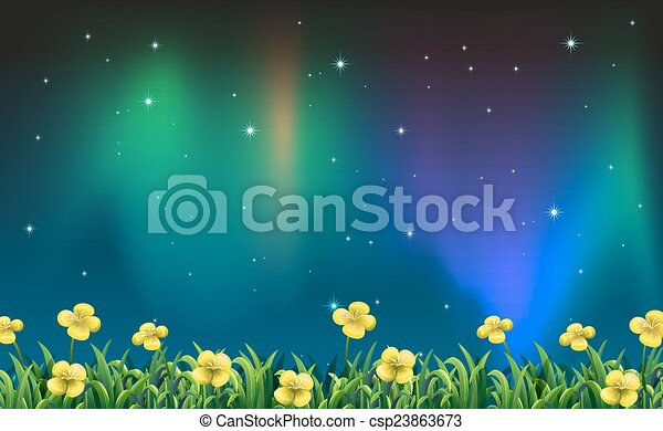 夜, 光景 - csp23863673