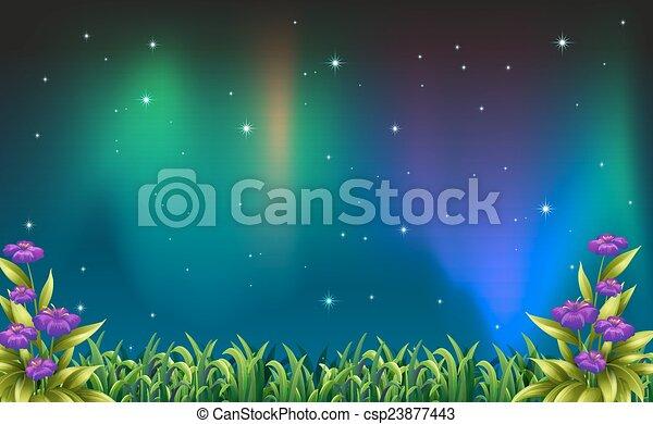 夜, 光景 - csp23877443
