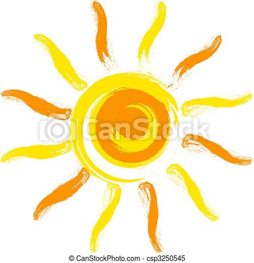 太陽, ベクトル - csp3250545