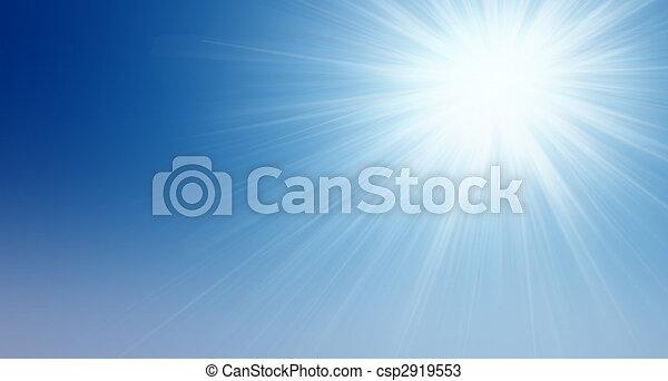 太陽, 空 - csp2919553