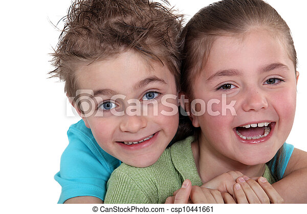 子供, 幸せ - csp10441661