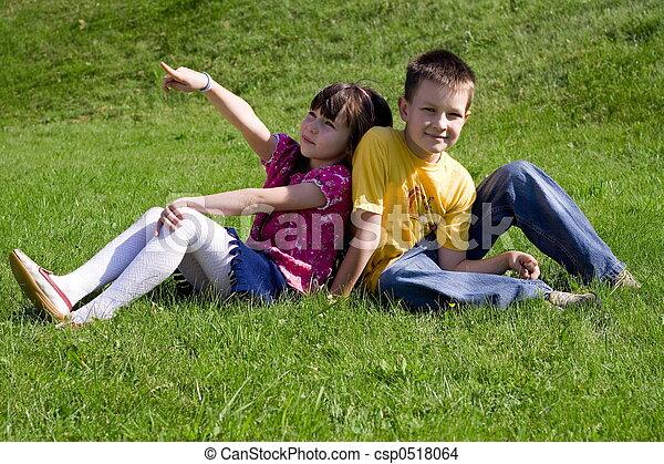 子供, 幸せ - csp0518064