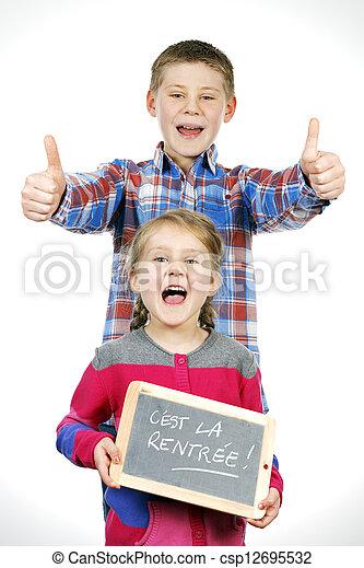 子供, 幸せ - csp12695532