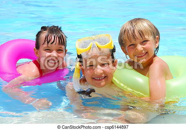 子供, 幸せ - csp6144897