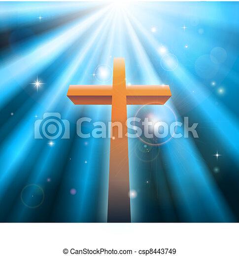 宗教, キリスト教徒, 交差点 - csp8443749