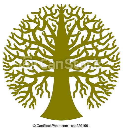 定型, 木, ラウンド - csp2291991