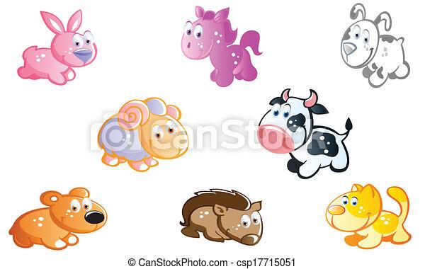 家畜, 庭 - csp17715051