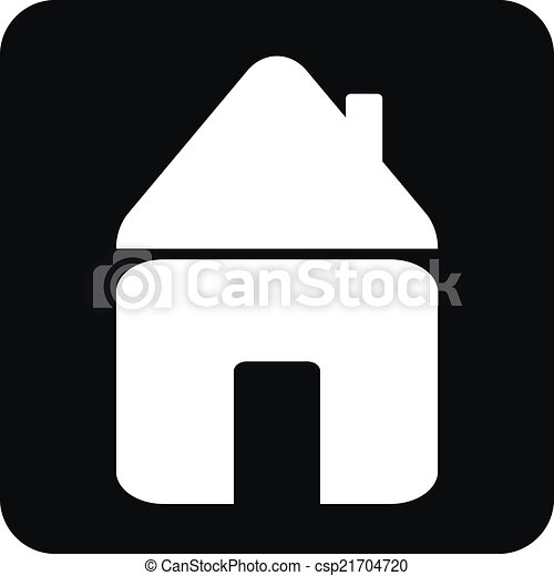 家, ボタン - csp21704720