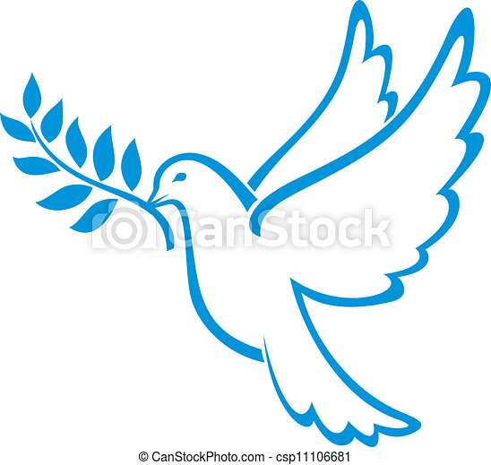 平和, 鳩 - csp11106681