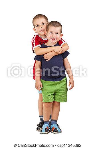幸せ, 子供 - csp11345392