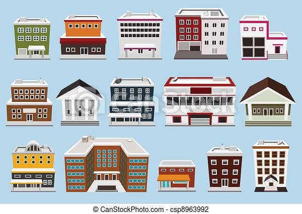 建物, コレクション - csp8963992