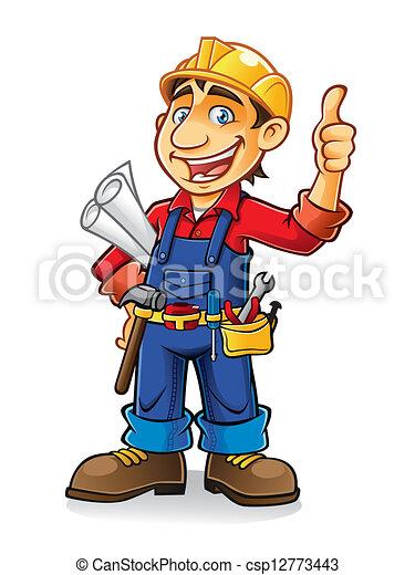 建築作業員 - csp12773443